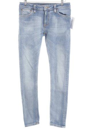 Nudie jeans Slim Jeans himmelblau Casual-Look