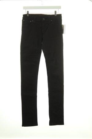 Nudie jeans Slim Jeans schwarz Casual-Look
