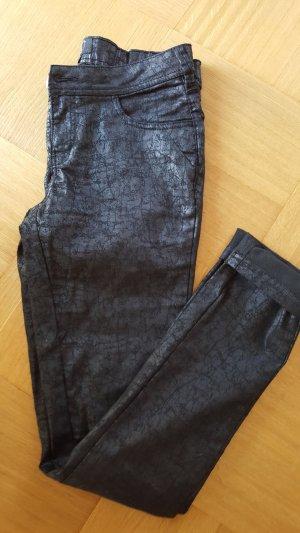 NÜ Denmark Pantalon strech noir coton