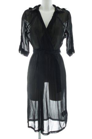 NÜ Denmark Blusenkleid schwarz Elegant