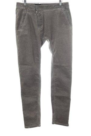 NÜ Denmark Hoge taille jeans grijs-bruin-goud extravagante stijl