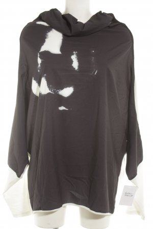 NÜ Denmark Oversized Shirt dark blue-white batik pattern casual look