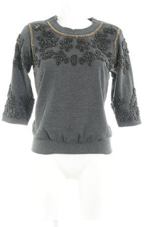 NÜ Denmark Sweatshirt dunkelgrau Casual-Look