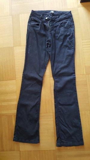 NÜ Denmark Jeans bootcut noir coton