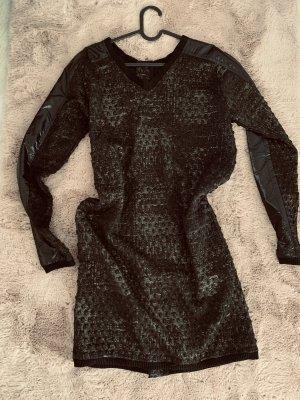 NÜ Denmark Robe manteau noir-doré