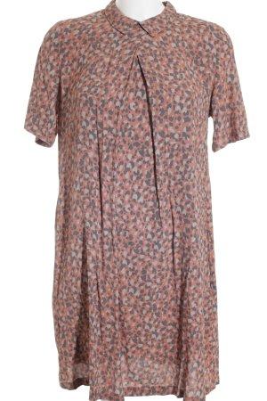 NÜMPF A-Linien Kleid Farbtupfermuster Casual-Look
