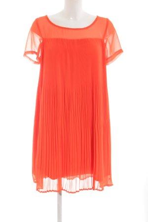 Nümph A-Linien Kleid neonorange Casual-Look