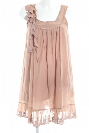 Nümph A-Linien Kleid roségoldfarben Party-Look