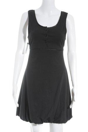 Nümph A-Linien Kleid schwarz Casual-Look
