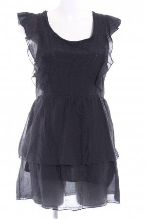 Nümph Blusenkleid schwarz Casual-Look