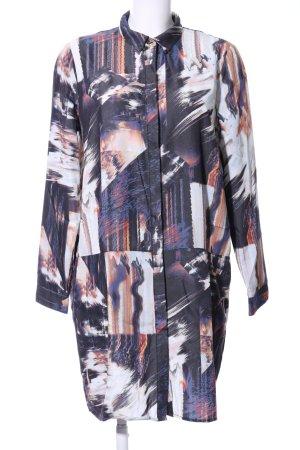 Nümph Shirtwaist dress abstract pattern casual look