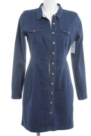 Nümph Shirtwaist dress blue casual look