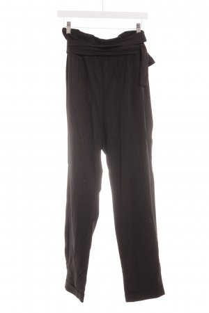 Nümph High-Waist Hose schwarz Casual-Look