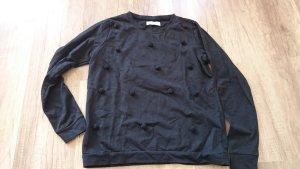 Nümph Jeans Pulli Pullover Sweat Sweater Sweatshirt Bommel Pompom Pompons M