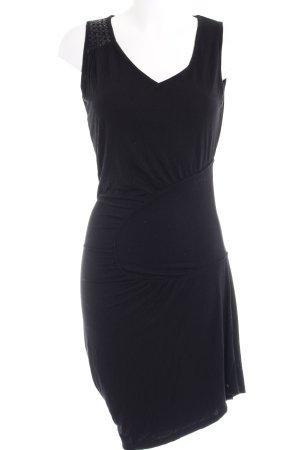 Nümph Jerseykleid schwarz Casual-Look