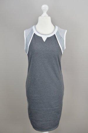 Nümph Kleid Jersey grau Größe S