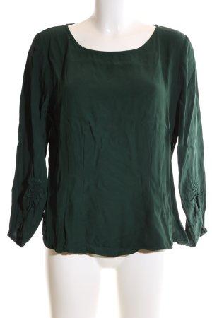 Nümph Langarm-Bluse grün Elegant