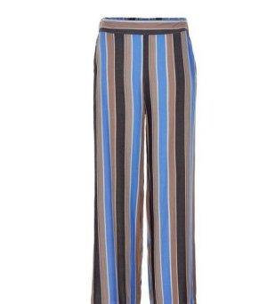 NÜMPF Pantalone Marlene multicolore Viscosa