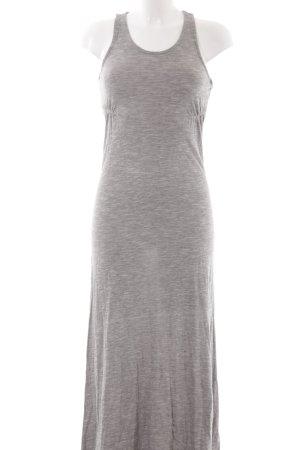 Nümph Maxi abito grigio chiaro stile spiaggia