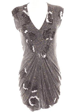 Nümph Minikleid abstraktes Muster Street-Fashion-Look