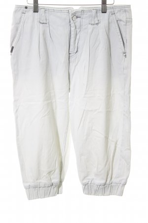 Nümph Pantalon large gris clair lavage à l'acide
