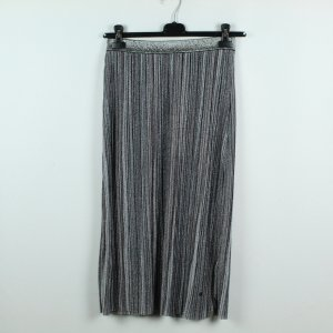 NÜMPF Jupe à plis gris tissu mixte