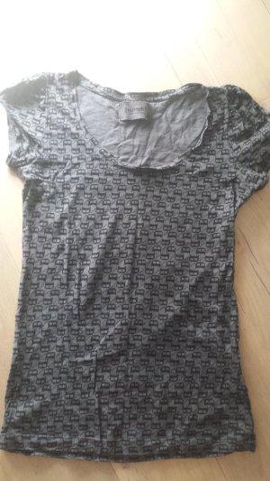 NÜMPH Shirt grau-gemustert