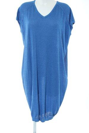 Nümph Abito di maglia blu stile casual