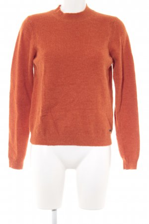 Nümph Strickpullover dunkelorange Casual-Look