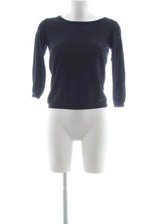 Nümph Camisa tejida azul oscuro brillante