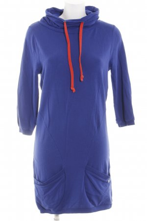 Nümph Sweatkleid blau Casual-Look