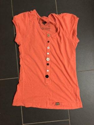 Nümph T-Shirt Gr. M mit verschiedenfarbigen Knöpfen