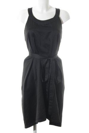 Nümph Trägerkleid schwarz extravaganter Stil