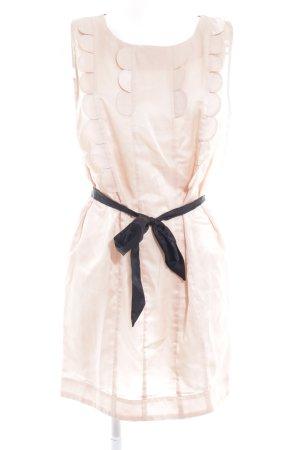 Nümph Trägerkleid schwarz-rosé Casual-Look