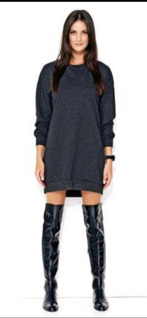 Sweater Dress grey-dark grey