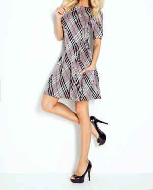 NUMOCO Kleid in weicher Qualität, Halbarm, Rundhals Gr M 38 NEU