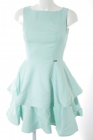 Numoco Midi Dress turquoise party style