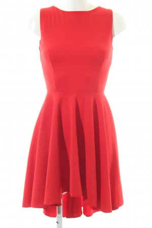 Numoco Pinafore dress red elegant