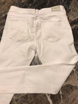 Nur 1x getragene weiße Burberry Hose Größe 28