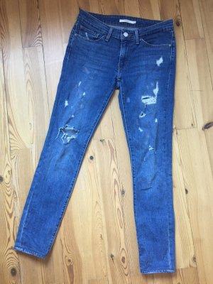 nur bis 22.10: Levis Ripped-Jeans (27/34) - selten getragen