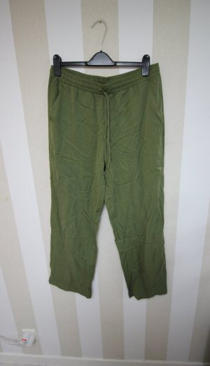 H&M Trousers olive green