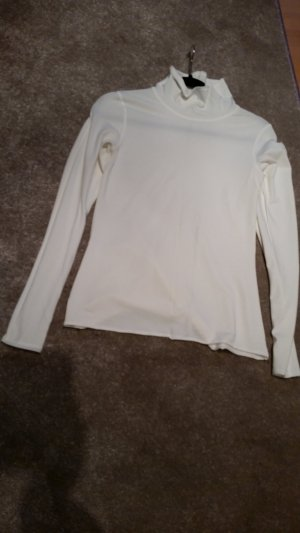 Cols de blouses blanc modal