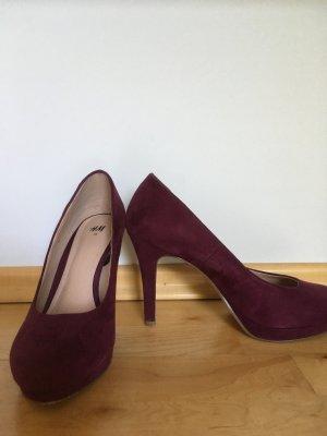 NUR HEUTE: Sexy High Heel Pumps violett