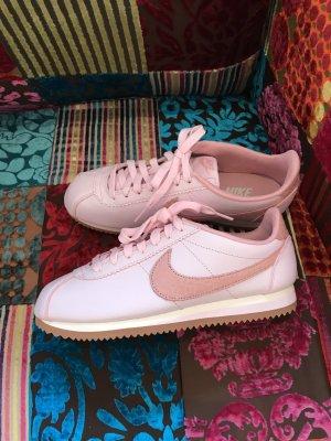NUR NOCH HEUTE!!!! * LETZTER PREIS!!! * NEU!!! * Nike Cortez * Classic * Sneaker * Größe 39 * Leder * rosa weiß * Pastellfarben * NEU!!!