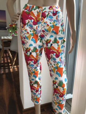 Bodyflirt 3/4 Length Trousers multicolored cotton