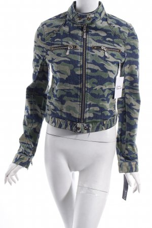 NVM 9 by Christian Audigier Jeansjacke Camouflagemuster Street-Fashion-Look