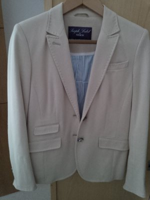 NVSCO Wool Blazer cream cotton