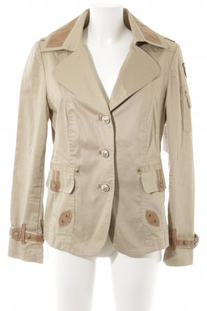 NVSCO Jersey Blazer marrón claro-beige look casual