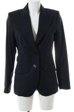 NVSCO Long-Blazer schwarz Business-Look