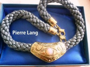 NW - Pierre Lang Anhänger mit Kordelkette
